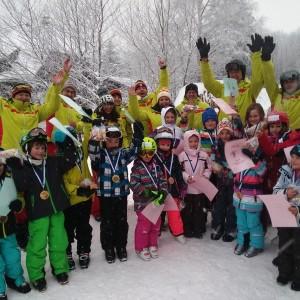 Skikurs für Kinder in Waldhäuser vom 14. – 15.01.2017