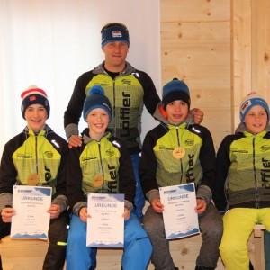 """Bayerncup Biathlon in Finsterau: 5 Medaillen für die Biathleten """"Unterm Lusen"""""""
