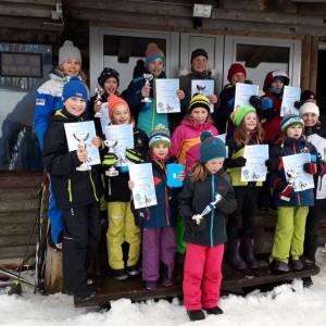 Grafenauer Skilangläufer stürmen Stockerl
