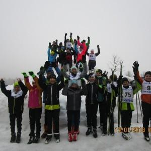 103 erfolgreiche Starts der Grafenauer Skilangläufer in 6 Rennen : )