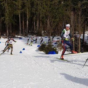 Drei Tage Deutsche Meisterschaft und Dauer-Anstrengung in Ruhpolding mit Erfolgen für Skiverband Bayerwald…