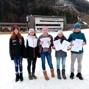 Erfolgreiches Biathlon Schülercupfinale in Ruhpolding für die WSV´ler    : )))